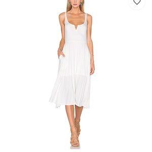 House of Harlow 1960 Ella Tank Dress white